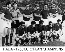 ITALY - 1968 EUROPEAN CUP CHAMPIONS, 8x10 Team Photo