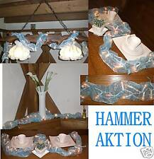 12 Stück Lichterkette 250cm weiß Kommunion Hochzeit Deko Tisch Weihnachslicht