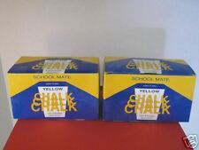 Yellow Chalk for Chalkboard #1443 LOT 8 x 144 ct=1152