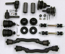 Cadillac Deluxe Front End Suspension Kit Tie Rod Ends+Ball Joints+Bushing 63-65*