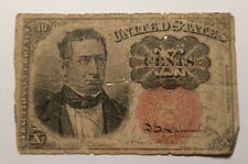1874 10 Cents Fractional Currency 0053