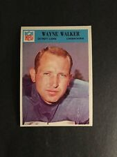 1966   PHILADELPHIA   FOOTBALL    #76   WAYNE  WALKER    EX-MT