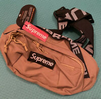 Supreme 18SS Waist Bag Beige Fanny Pack for Women & Men Brand New