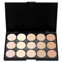 15 Colors Makeup Concealer Palette-Cream Contour Kit- Blemish Face Highlighter