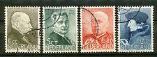 Nederland  283 - 286 gebruikt (5)