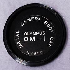 Heavy Duty Metal Body Cap For Olympus OM-1 Made in Japan O M 1 Good Shape