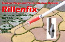 Rillenfix Fugenkratzer Unkrautkratzer NEU OVP mit Verlängerungsstiel