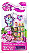 My Little Pony 15 pc Nail set  Press-On Nails keychain nail file Lip Gross