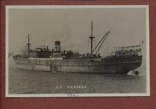 ss HARPASA   J.& C.Harrison. Tramp. Bombed by Japanese aircraft 1942  qp376