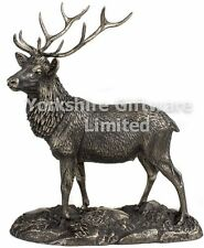 Cold Cast Bronze Majestic Stag Sculpture Deer Ornament by Tom Mackie / Genesis