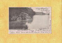 CT Mystic 1906 antique postcard MISTUXET ROCK  CONN TO JAMAICA NY DUNN