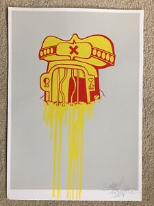 Sickboy Buff Temple Screen Print - A/P Exition Of 10