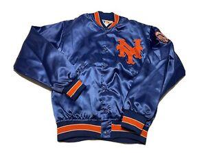 Felco - New York Mets Vintage Satin Bomber Jacket Sz M MLB 80s 90s