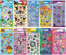 Children's Re-usable Foiled Sticker Pack Sheets Birthday Party Bag Scrap Books