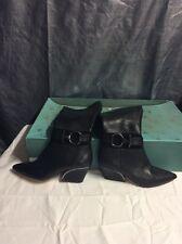 Carolinna Espinosa Cestarrz Black Boots Womens size 5 M New $400