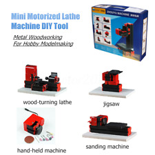 New listing 20000Rpm Mini Metal Motorized Lathe Milling Drilling Sanding Jigsaw �