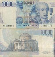 """10.000 LIRE ALESSANDRO VOLTA LETTERA """"C """""""