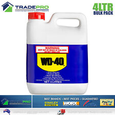 WD-40 Multipurpose Lubricant 4Ltr Bulk WD40 Degreaser Stop Squeaks & Rust 4L
