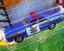 GOLD Trim MBX COUNTY SHERIFF Unit #62 Dodge MONACO Blue MBX 2013 NEW in Pack!