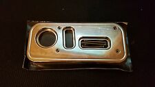 Hummer H2 & SUT Billet/Chrome Seat Control Covers 2003-07 RARE NOVITEC ORIGINALS