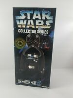 "Star Wars Collector Series Tie Fighter Pilot 12"" inch Figure Kenner 1996 New"