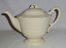Lenox Teapot Embossed Basketweave & Scroll Design
