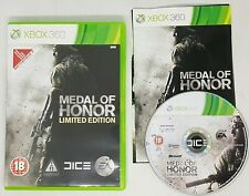 Xbox 360 Medal Of Honor Limited Edition Game