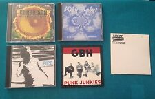 Punk / Alternative Promo Lot Corrosion Pipe GBH Billy Feedtime C*nts