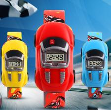 Kids Car Style Digital Cartoon Sport watch LED Display watchs Jewelry Wristwatch