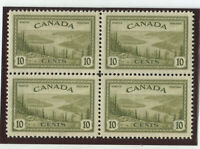 Canada Stamps Scott #269 Block of 4,MINT,NH,VF (X8292N)