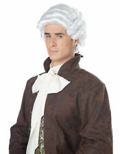 California Costume Collections 70172 Colonial Man White Wig