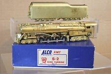 ALCO MODELS BRASS PENNSYLVANIA PRR 6-8-6 CLASS S-2 TURBINE LOCOMOTIVE BOXED np