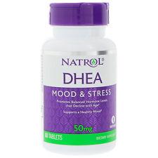 Natrol Dhea 50mg Promouvoir A Balanced Hormone Niveau Énergie Bien-être