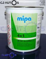 MIPA 4+1 2K HS Acryl Filler White High Quality Build Primer 4Litre Car Van Paint