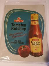 Nostalgie Blechschild Kraft Tomatenketchup Schild