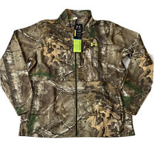 Under Armour Mens 2XL Realtree Camo Scent Control Hunting Jacket 1248012-946