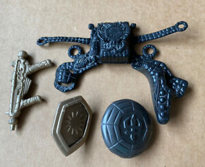 Sectaurs Warriors of symbion ,Weapons Accessories Gun, Shields And Harness