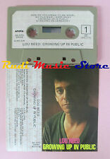 MC LOU REED Growing up in public 1980 italy ARISTA 30 ARS 39046 cd lp dvd vhs