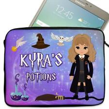 "Tablet Cover HARRY Wizard Neoprene Sleeve Case Personalised Gift 7"" - 10"" KS158"