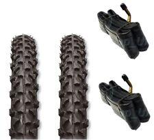2 x Tyres Fits Prams Quinny Buzz 12 1/2 x 2 1/4 & ' 2 x FREE BENT TUBES '