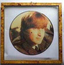 JOHN LENNON LIMITED EDITION INTERVIEW PICTURE DISC LP + CORNICE