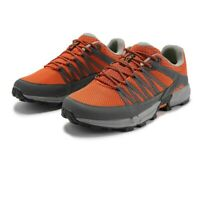 Inov8 Mens Roclite 280 Trail Running Shoes Trainers Sneakers - Grey Red Sports