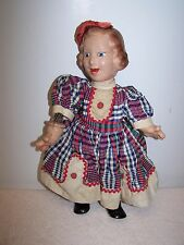 Vintage 1930's Ideal Flexy Fanny Brice Baby Snooks Doll