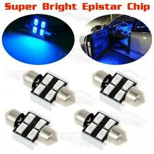 For Sale 4x Blue Epistar LED Interior Dome Lights  31mm Festoon DE3175 for Honda