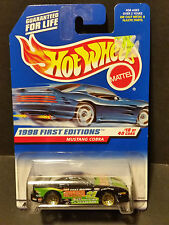 1998 Hot Wheels #665 1998 First Editions 18/40 - Mustang Cobra - 18542