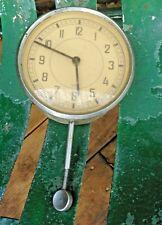 Vintage Car Clock Wind up VDO Dial