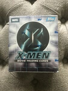2000 TOPPS 2000 X-MEN MOVIE TRADING CARDS FACTORY SEALED 24 PACK BOX