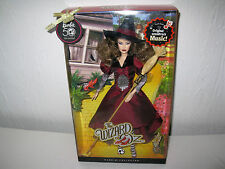 The Wizard of Oz Wicked Witch of the East Barbie Doll 50th Anniversary New