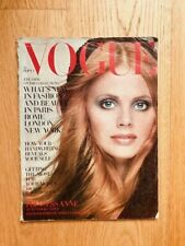 Vogue UK September 1st 1969 Britt Ekland Barry Lategan Princess Anne Parkinson
