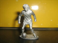 CALCIO in metallo Cast Figura George Best